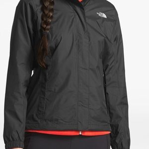 The North Face ♥️Rain Jacket with hoodie s small